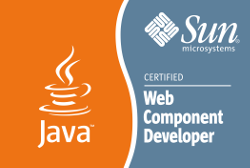 Sun Certified Web Component Developer Logo